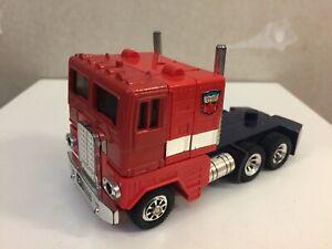Transformers G1 1985 IGA OPTIMUS PRIME figure cab mint mexico