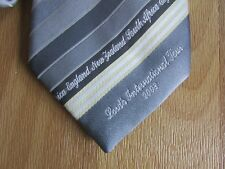 New Zealand England & South Africa Lord's International CRICKET Tour 2008 Tie