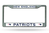 NEW ENGLAND PATRIOTS NFL Officially Licensed Chrome Auto License Plate Frame