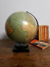 Philips vintage world globe on bakelite base