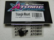 Atomic 1/28 RC - Kyosho Mini Z AR-73 - Triangle Mount for chassis - New