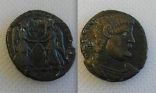 COLLEZIONISMO Roman Bronze MEDAGLIA MAGNENTIUS (ad.350-353) DUE VITTORIE di fronte a