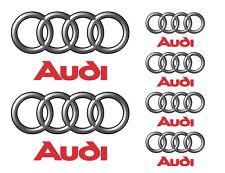 Audi vinyl decal set
