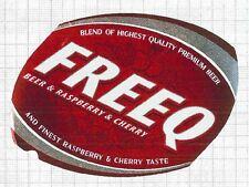 POLAND Grupa Zywie Freeq Raspberry Cherry beer label C1583
