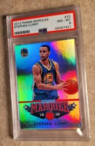 2012 Panini Marquee #33 Stephen Curry Warriors PSA 8💎GREAT INVESTMENT📈💲🏆🏆🏆