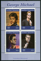 Madagascar 2019 MNH George Michael 4v M/S Music Celebrities People Stamps
