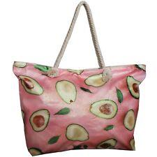 Bolso de playa Con Aguacate Tropical Fruta Shopper Grande Bolsos Shopper Compra