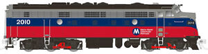 RAPIDO 15553 N SCALE FL9 LOCOMOTIVE METRO NORTH 2031 DC/DCC/SOUND