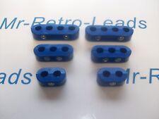 8 mm Bujía Encendido Plomo Azul Separador Espaciador Abrazadera Soporte para los coches de V8