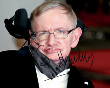 REPRINT - STEVEN HAWKING 1 ~ Autographed signed photo 8x10