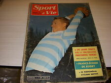 SPORT & VIE 57 02.1961 Le CYCLISME BRETON RUGBY FRANCE ECOSSE GACHASSIN