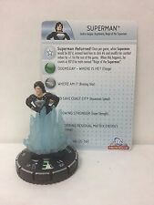 DC HeroClix Superman 057 Figure w/ Card B02