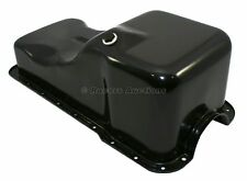 Small Block Ford Oil Pan Front Sump Black Stock Capacity 289 302 5.0 SBF Windsor