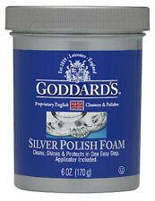 Silver Polish Foam Cleaner Tarnish Remover Brand new Gorddards 6 Oz