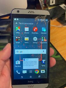 HTC Desire 530 16gb Phone - Cracked Screen (Telstra Locked)