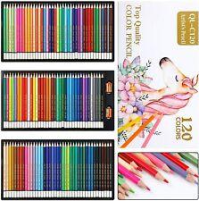 EXTSUD 120 Crayons de Couleur Professionnel, Set de Crayon Aquarelle pour...