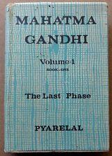 MAHATMA GANDHI – THE LAST PHASE by Pyarelal in 3 volumes