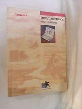 MANUALE UTENTE TOSHIBA T1800 T1850 T1850C Toshiba 1992 personal computer libro