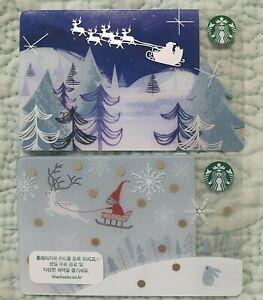 Starbucks korea  Parade Navy 2 card collection