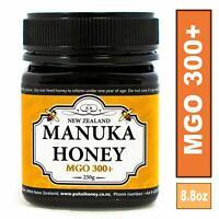 New Zealand 100% Pure Manuka Honey MGO 300+ 250g (8.8oz)