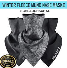 360° Winter Halstuch Schlauchschal Motorrad Mund Nase Tuch Biker Fleece Bandana