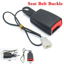 22mm Camlock Car Seat Belt Lock Buckle Socket Plug Connector with Warning Cable