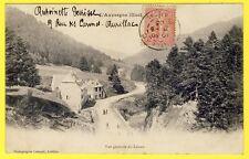 cpa Auvergne 15 Vue Générale du LIORAN (Cantal) Photo Castanié Aurillac Dos 1900