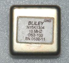 Bliley N15K1364 10MHz Os2-100