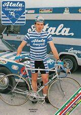 DANTE MORANDI cyclisme cp postcard cartolina Ciclismo radsport vélo ATALA 85