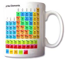 Tabla periódica de los elementos de química estudiante Profesor Regalo Taza Regalo Retr