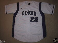 Paine College Lions #23 Baseball Game Used Worn Jersey LG