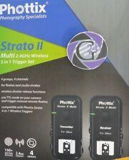Phottix Strato II Flashtrigger Sender und Empfänger für Nikon - Gewährleistung