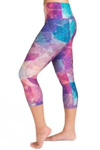 My Inner Fire · Size 4 XS · Geometrica Capris · Yoga Pants (EUC) Sold Out! Rare