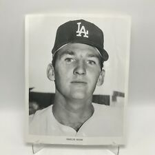 "CHARLIE HOUGH - Los Angeles Dodgers Baseball - 8"" x 10"" Black & White Photograph"