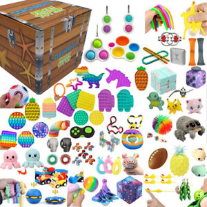 Fidget Toys Set Sensory Tools Bundle Anti-Anxiety Stress Relief Kids Adult ADHD