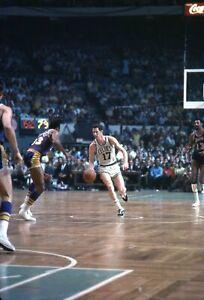 John Havlicek 1969 NBA Finals Lakers Celtics 35MM Original Photo Color Negative