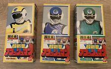 Super sentai Flashman Power Rangers 1986 Bandai Figures