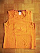 @ JETTE @ klassischer Pullunder orange Gr. 44 Size XXL US 14 UK 16