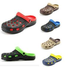 2020 Men's Rubber Sole Slip On Casual Beach Sand Outdoor Garden Clogs Slippers
