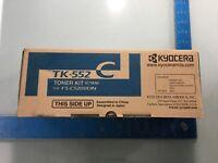 Kyocera Mita Toner Cartridfe TK-552 Cyan For FS-C5200DN NEW E