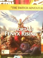 Immortals Fenyx Rising Poster Fenyx Rising Video Game Poster