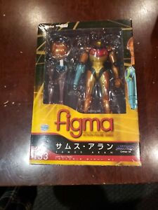 Metroid: Other M Samus Aran Figma #133 AUTHENTIC New! BOX DAMAGED