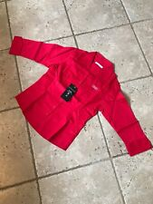 Womens AUDI red Fitted Shirt Size 8 NEW