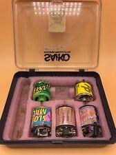 Vintage brushed motor lot (Twisters,race prep,Peak Performance, Slot machine)
