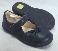BNIB Clarks Girls Softly Nia Navy Blue Leather First Shoes E/F/G/H Fitting
