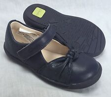 BNIB Clarks Girls Ath Megan Pink Leather First Shoes F//G Fitting