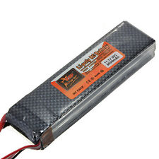 11.1V 3S 5000mAh 30C Rechargeable Lipo Battery for RC Helicopter Airplane Car