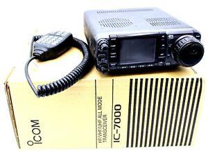 Icom IC-7000 HF/VHF/UHF Amateur Transceiver w/ LDG AT-7000 Memory Tuner