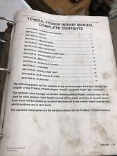 New Holland Tc48da Tc55da Tractor Factory Service Repair Manual Set