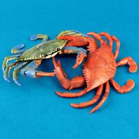 1Pcs Realistic Crab Model Toy Ocean Sea Animal Figure Model PVC Kids Toys Gifts